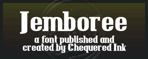 Jemboree font by Chequered Ink