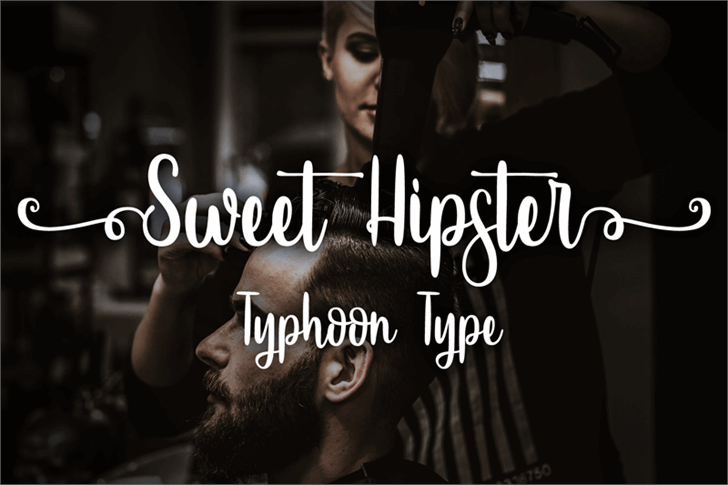 Sweet Hipster font by Typhoon Type - Suthi Srisopha