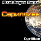 Cyrillian font by Pixel Sagas
