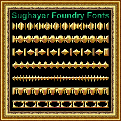 Vintage Borders_014 font by Sughayer Foundry