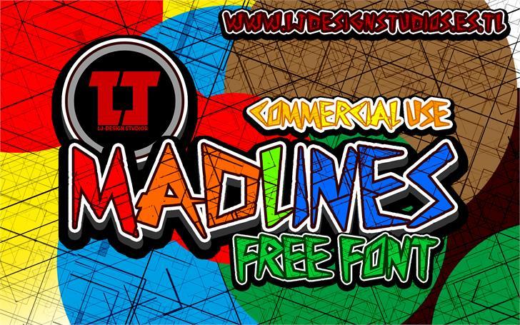 MadLines font by LJ Design Studios