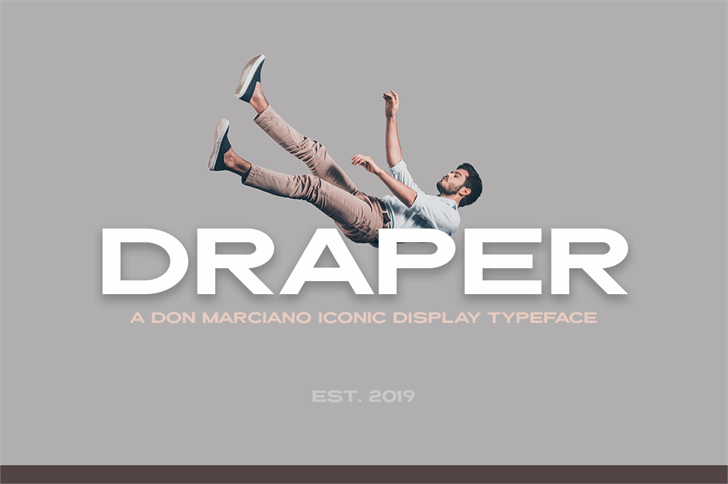 Draper font by DonMarciano