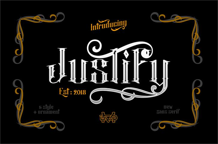Justify font by madeDeduk