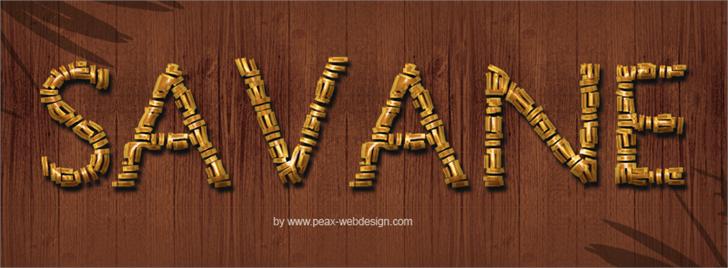 PWSavane font by Peax Webdesign