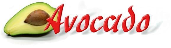Avocado font by Peter Wiegel