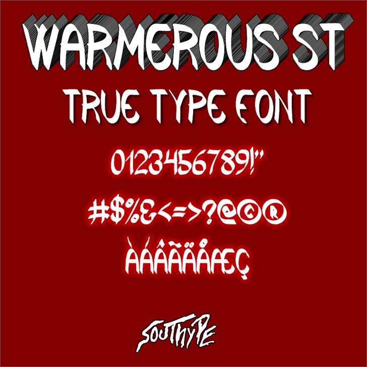 Warmerous St font by Southype