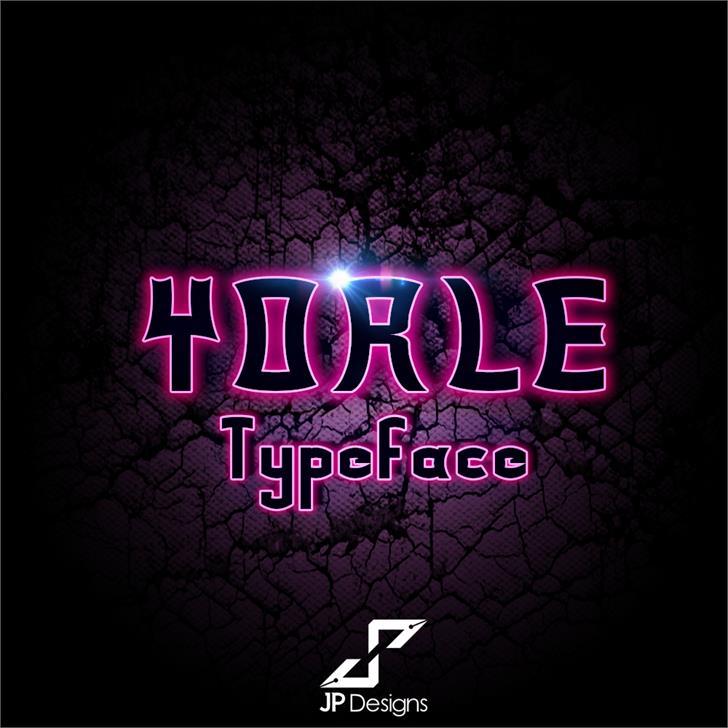 Yorle Personal use font by LJ Design Studios