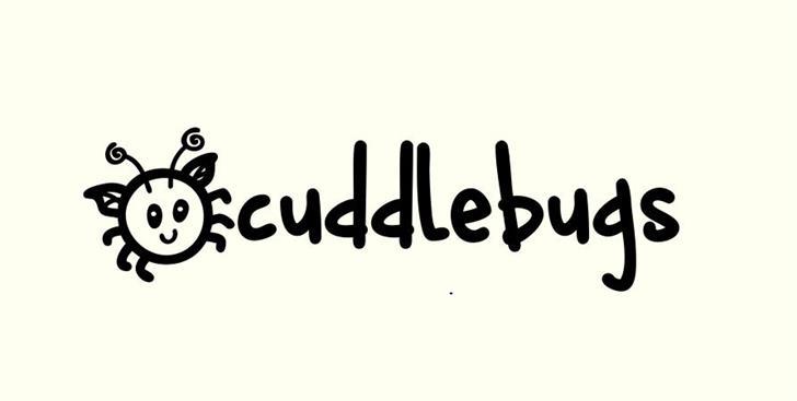 cuddlebugs font by Brittney Murphy Design