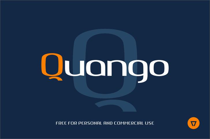 Quango font by NimaVisual