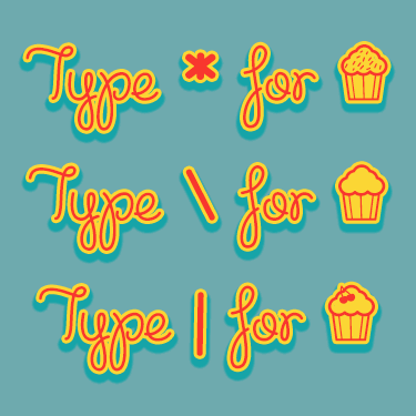 Cupcake Party Demo font by Misti's Fonts