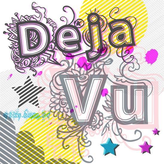 vtks Deja Vu font by VTKS DESIGN