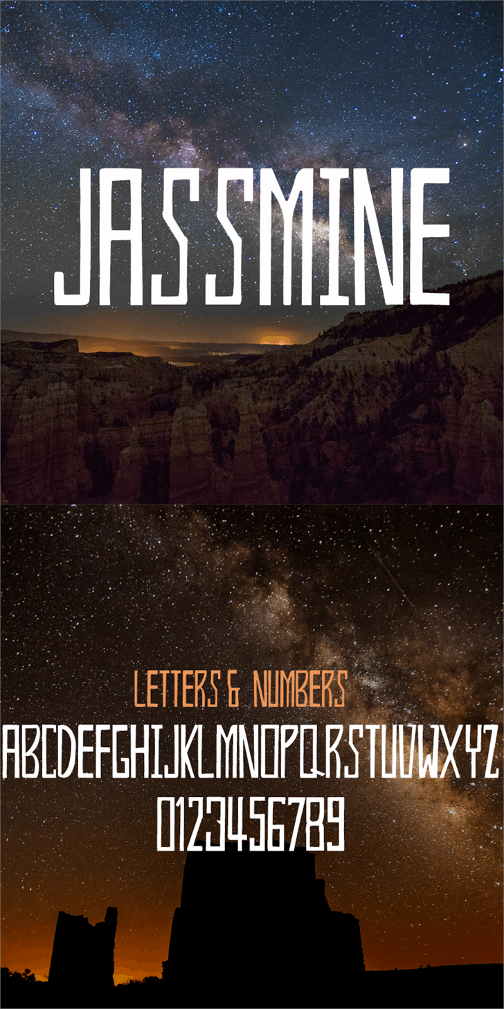Jassmine Demo font by Creativetacos