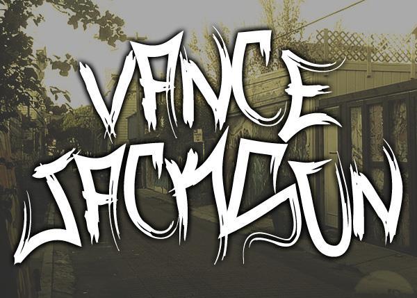 Vance Jackson font by Font Monger