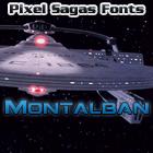 Montalban font by Pixel Sagas