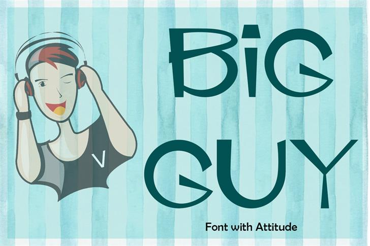 EP Big Guy font by Emily Penley Fonts