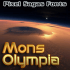 Mons Olympia font by Pixel Sagas