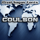 Coulson font by Pixel Sagas