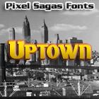 Uptown font by Pixel Sagas