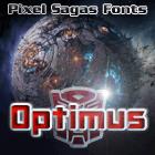 Optimus font by Pixel Sagas