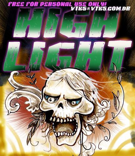 VTKS HIGHLIGHT font by VTKS DESIGN