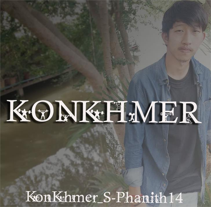 KonKhmer_S-Phanith14 font by Suonmay Sophanith