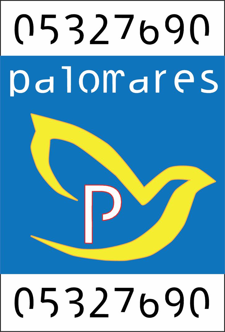 palomares font by Cé - al