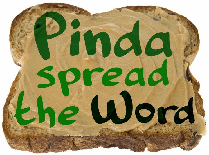 Pinda font by David Kerkhoff