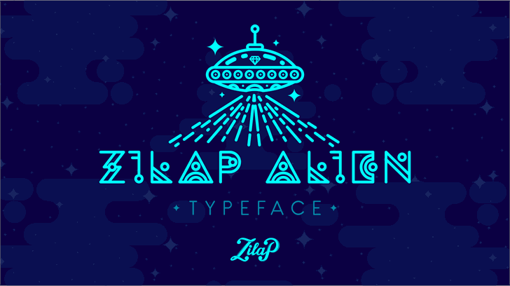Zilap Alien font by ZILAP ESTUDIO - ZP
