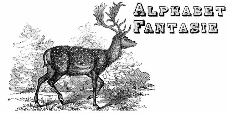 Alphabet Fantasie font by Intellecta Design