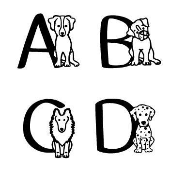 Ks Puppy Party font by Pretty Little Line Designs