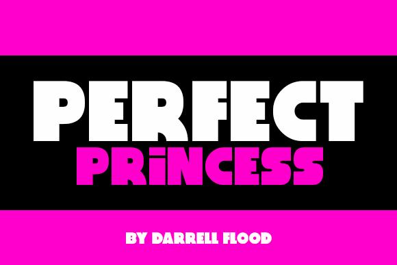 Perfect Princess font by Darrell Flood
