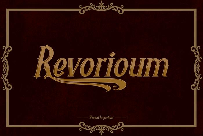 Revorioum font by seventhimperium