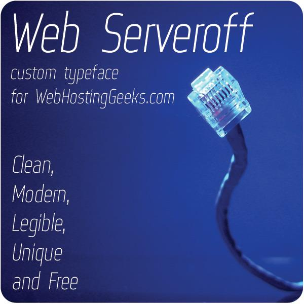Web Serveroff font by 4th february