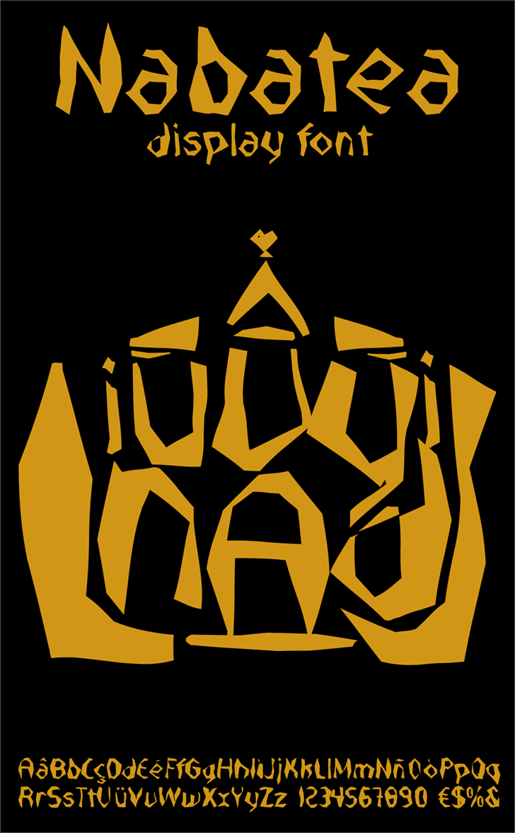 Nabatea font by deFharo