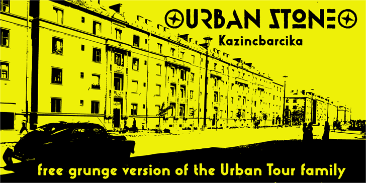 Urban Stone font by Roland Huse Design
