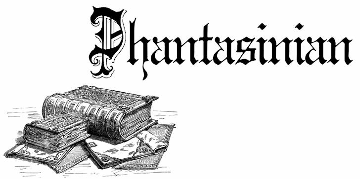 Phantasinian font by Intellecta Design