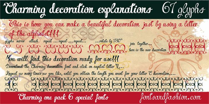 Charming Normal demo font by Fontsandfashion