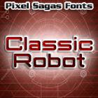 Classic Robot font by Pixel Sagas