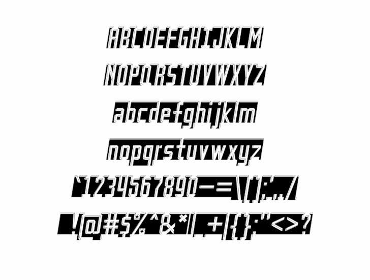 Bad Eyes font by alisaptamarza
