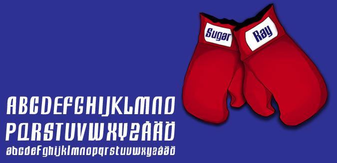Sugar Ray font by Fontomen