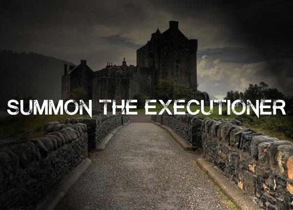 Summon the Executioner font by Chris Vile