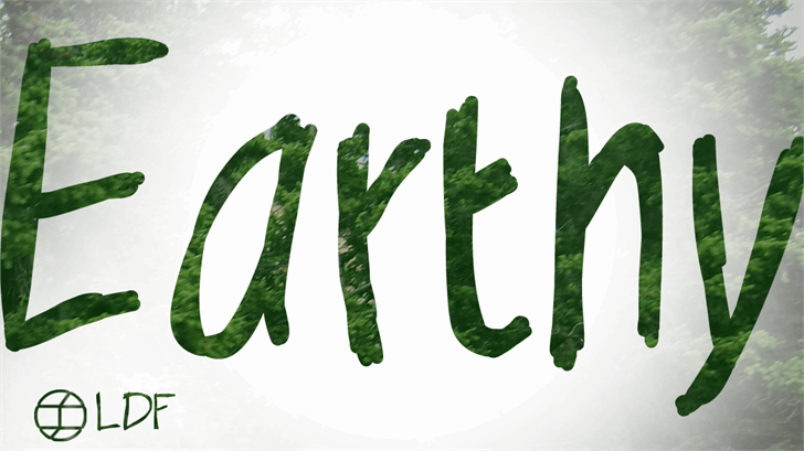 Earthy font by Jake Luedecke Motion & Graphic Design