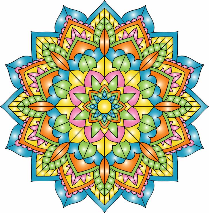 Mandalas font by elharrak