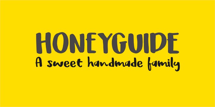 DK Honeyguide Caps font by David Kerkhoff