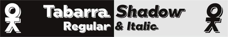 Tabarra Shadow font by deFharo