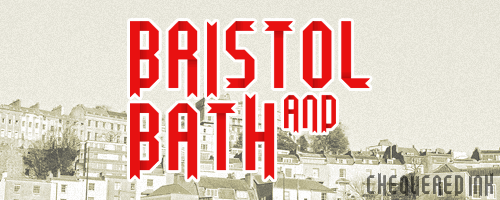 Bristol and Bath font by Chequered Ink