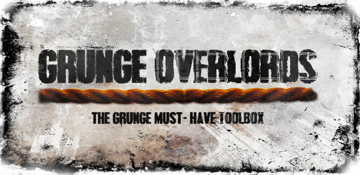 Grunge Overlords font by Herofonts