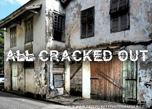 All Cracked Out font by Chris Vile