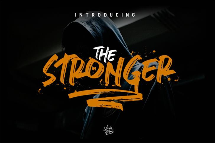 stronger font by mlkwsn