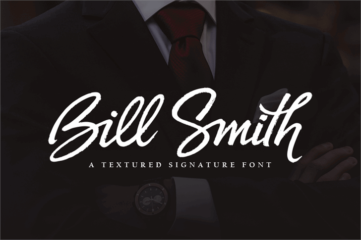Bill Smith font by subectype